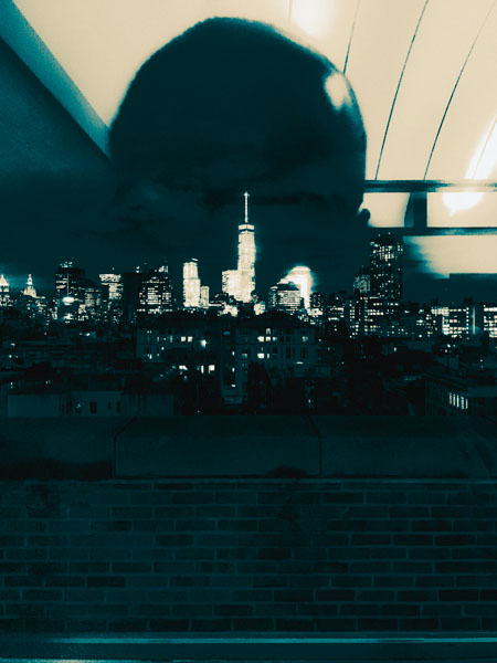 Manhattan Skyline nr. 2 by Jens Haas