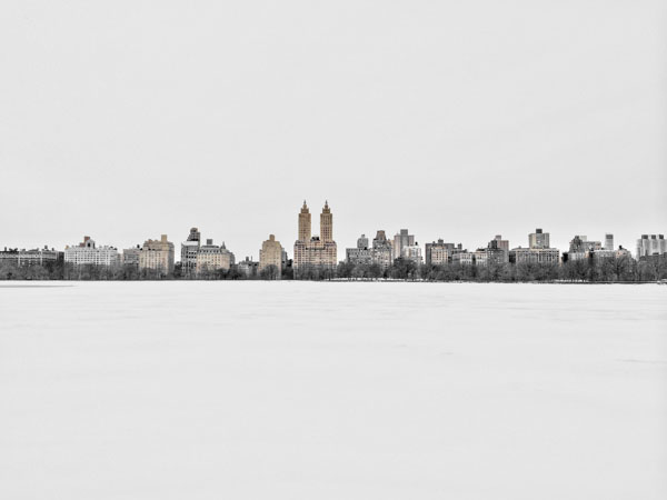 Central Park Deep Freeze by Jens Haas
