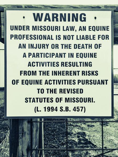 Under Missouri Law nr. 2 by Jens Haas