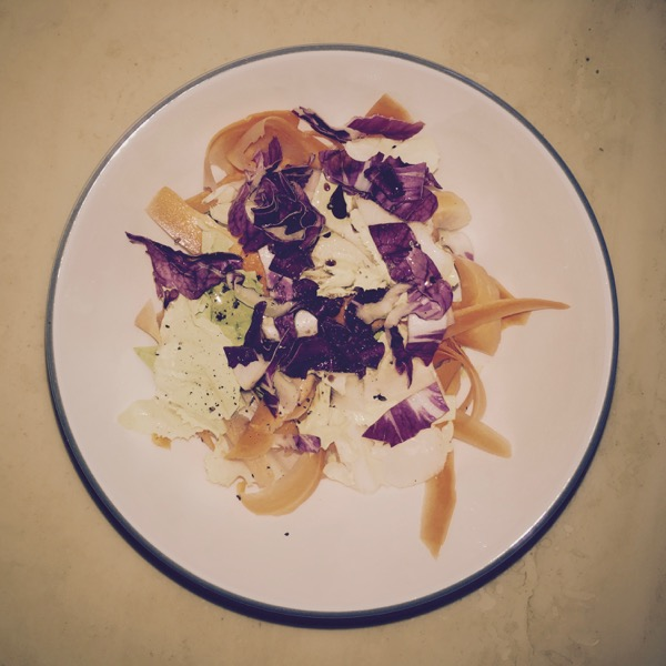 Radicchio and Carrot Salad by Jens Haas